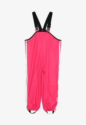 LAMMIKKO - Rain trousers - candy pink