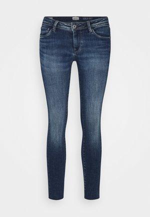 LOLA - Jeans Skinny Fit - stone blue denim