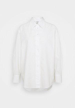 LISTEN - Button-down blouse - white