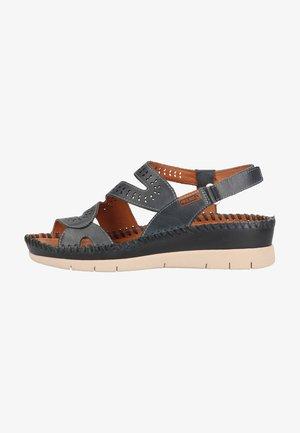 Sandales compensées - ocean