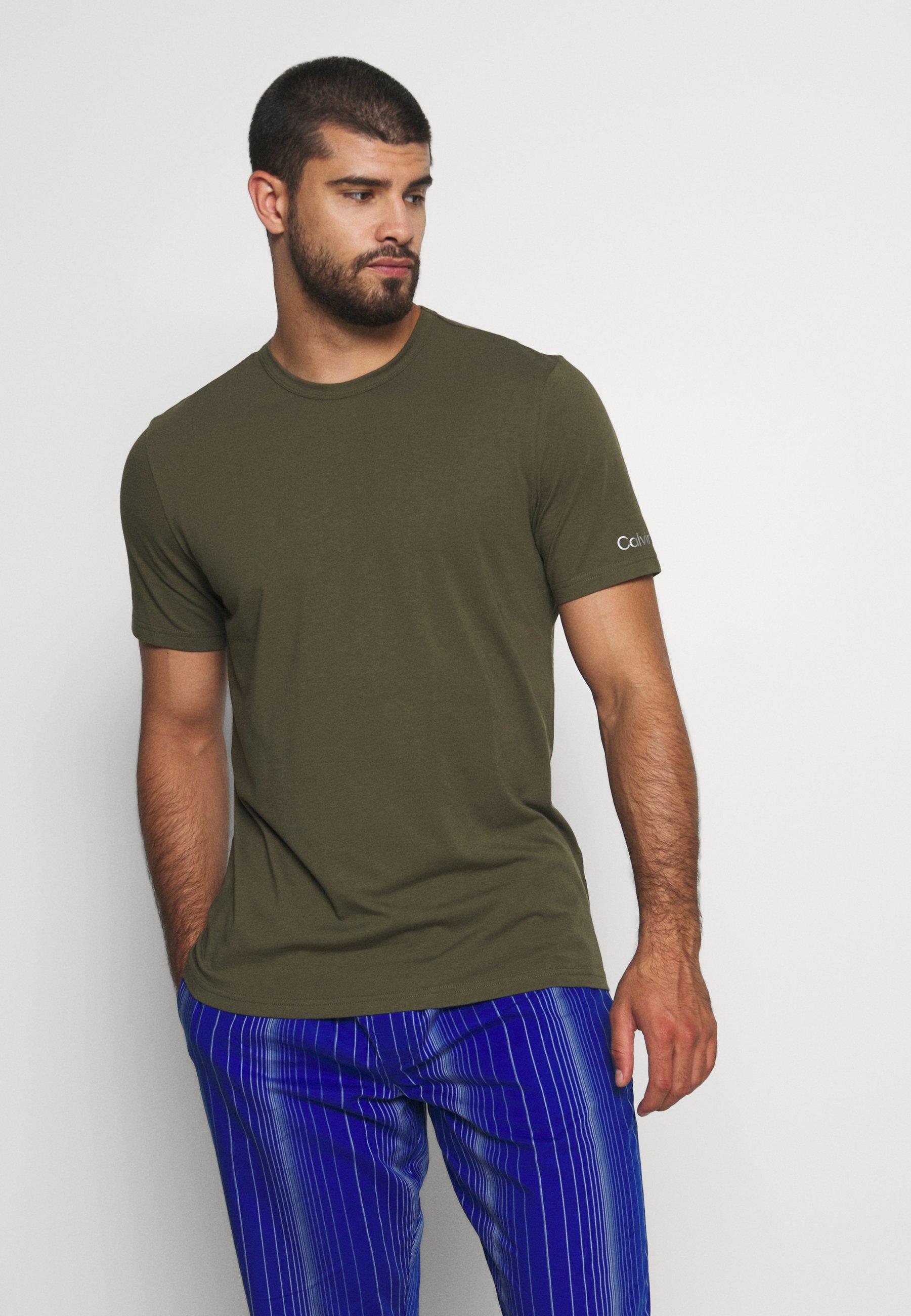 Herren GALVANIZE LOUNGE CREW NECK - Nachtwäsche Shirt