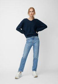 Marc O'Polo DENIM - LONG SLEEVE - Jumper - royal blue - 1