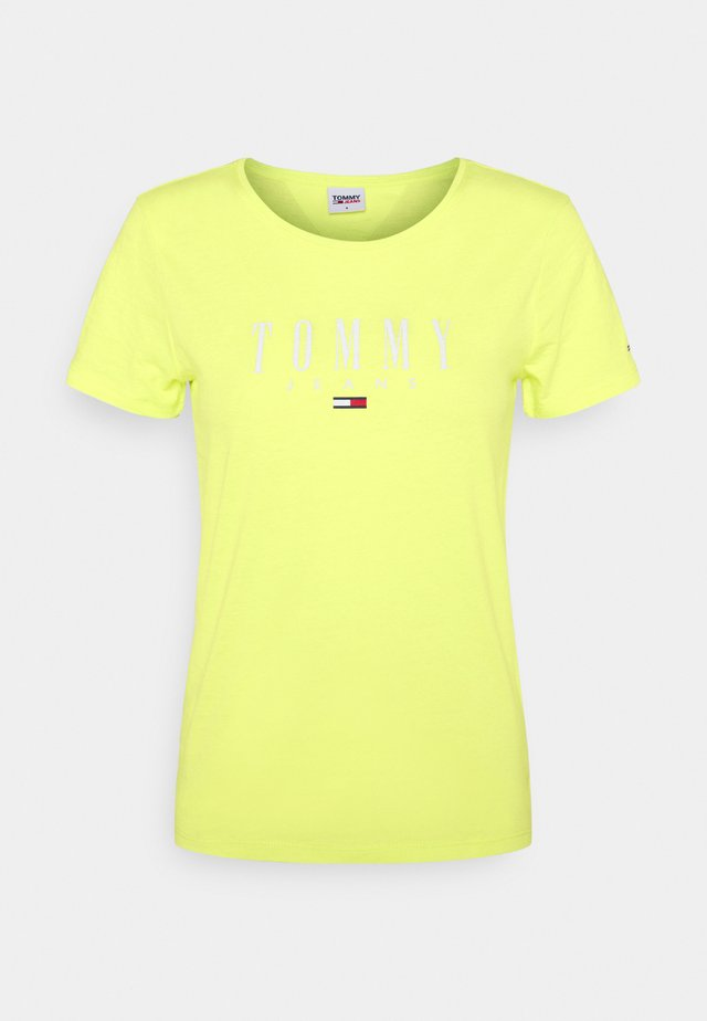 ESSENTIAL LOGO TEE - T-Shirt print - faded lime