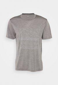 Houdini - ACTIVIST MESSAGE TEE - Print T-shirt - soft grey - 3