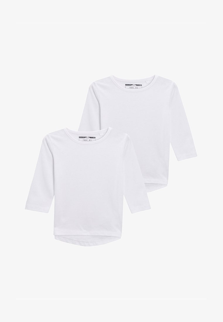 Next - 2 PACK - Long sleeved top - white