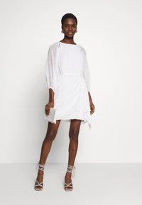 Stevie May - ARDEN MINI DRESS - Day dress - white - 1