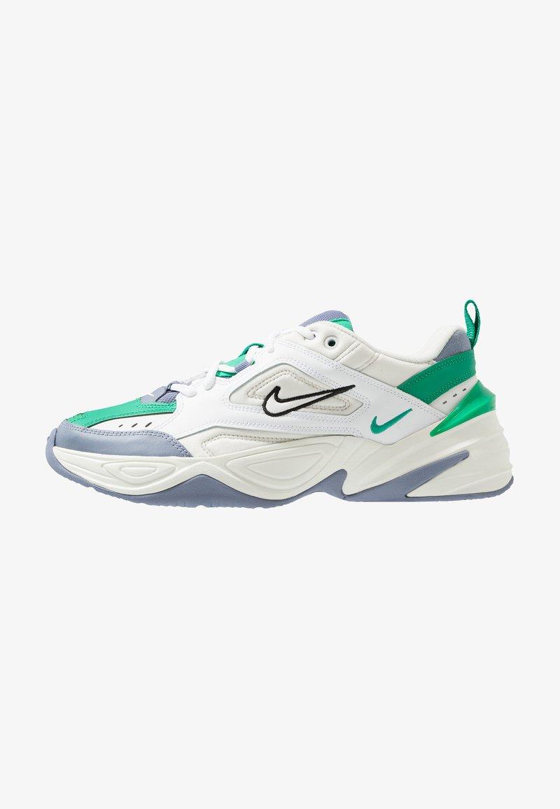 poetas Absorbente Sustancialmente  Nike Sportswear M2K TEKNO - Sneakersy niskie - platinum tint/sail/lucid  green/stellar indigo/black/mleczny - Zalando.pl