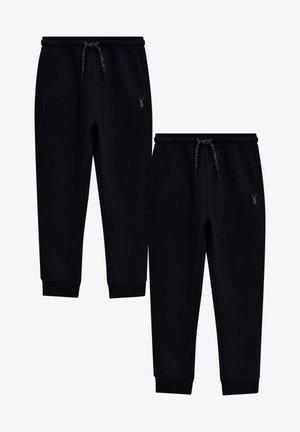 2 PACK  - Tracksuit bottoms - black