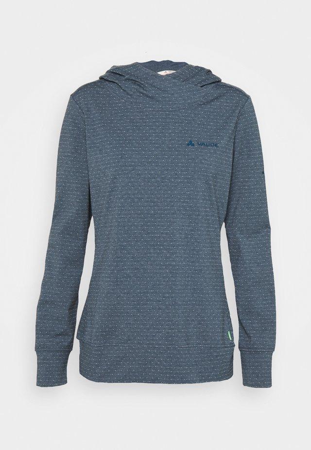 WOMENS TUENNO - Sweatshirt - steelblue