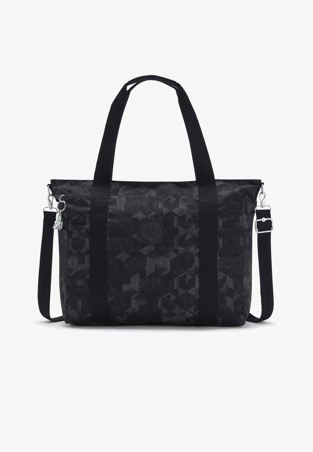 ASSENI - Shopping bag - mysterious grid