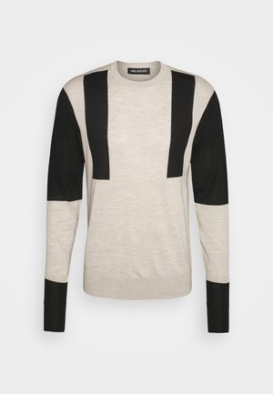 MODERNIST - Pullover - natural/black