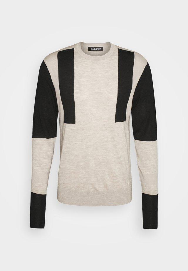 MODERNIST - Pullover - natural/black