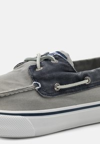 Sperry - BAHAMA II - Boat shoes - grey/khaki - 5
