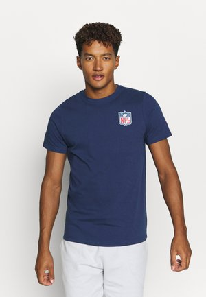 NFL TRUE CLASSICS SHIELD  - Triko s potiskem - navy