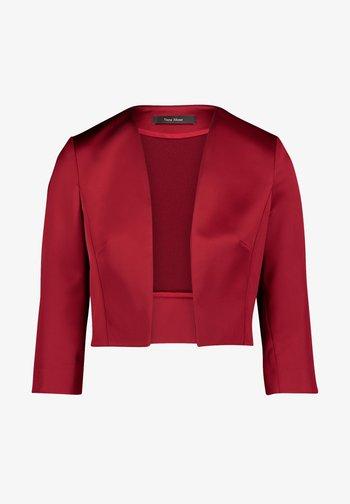 MIT KELLERFALTEN - Blazer - ruby red