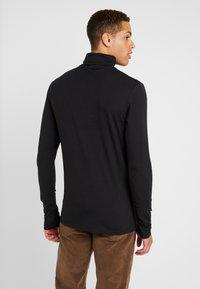 Pier One - Langærmede T-shirts - black - 2
