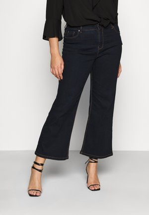 WIDE LEG - Flared Jeans - indigo