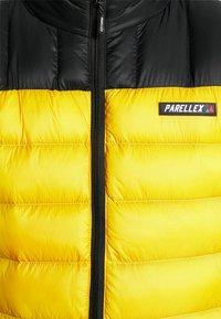 PARELLEX - HYPER JACKET - Light jacket - black/ mustard - 4