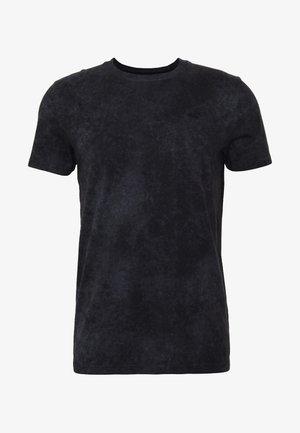 GARMENT DYE - Print T-shirt - black wash