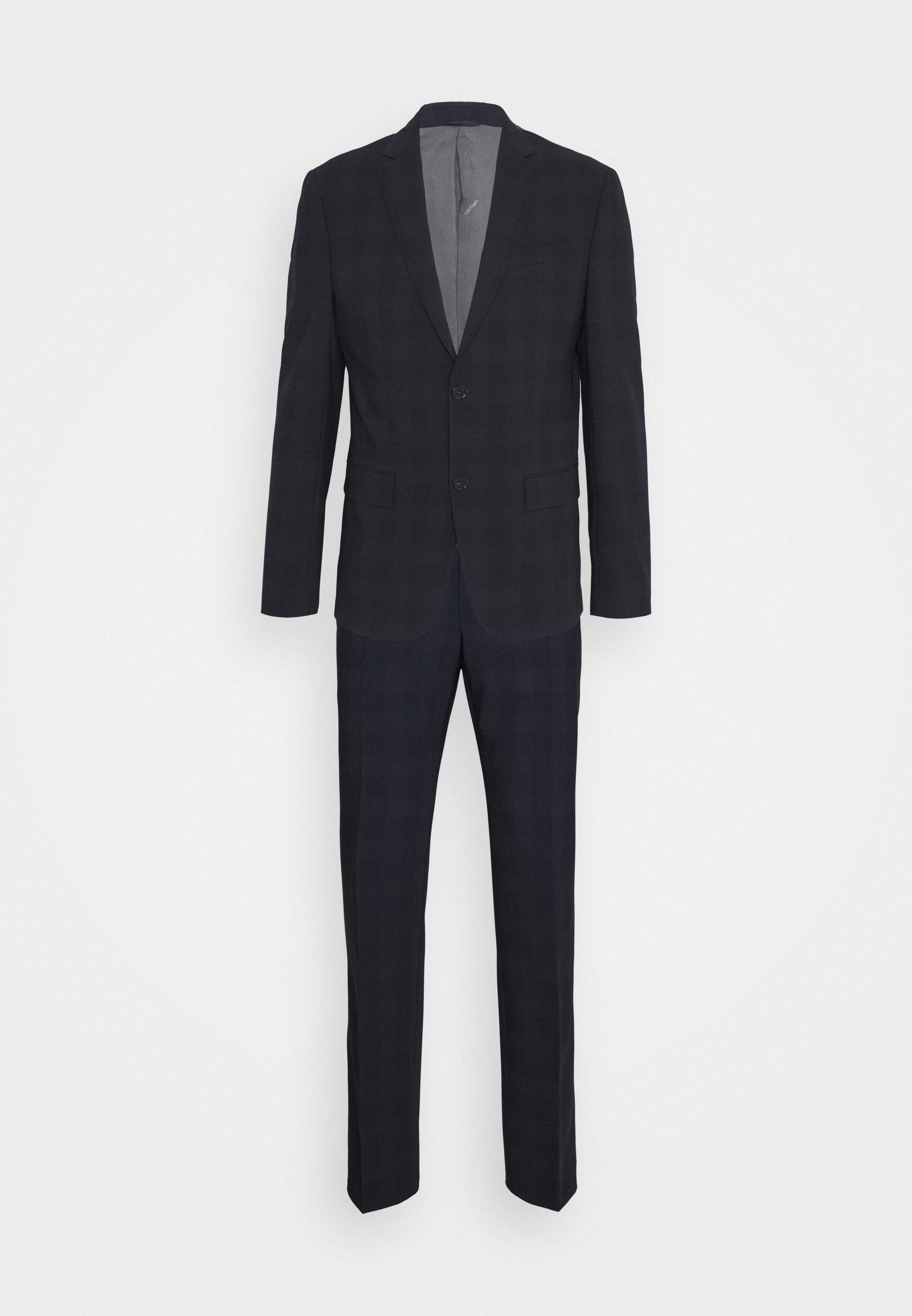 Homme STRETCH SUBTLE CHECK SUIT - Costume
