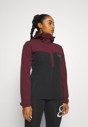 JACKET SHELTER - Soft shell jacket - red haze