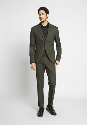 PLAIN SUIT - Garnitur - khaki