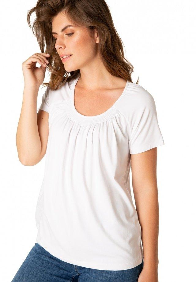 YOKI - T-shirt print - white