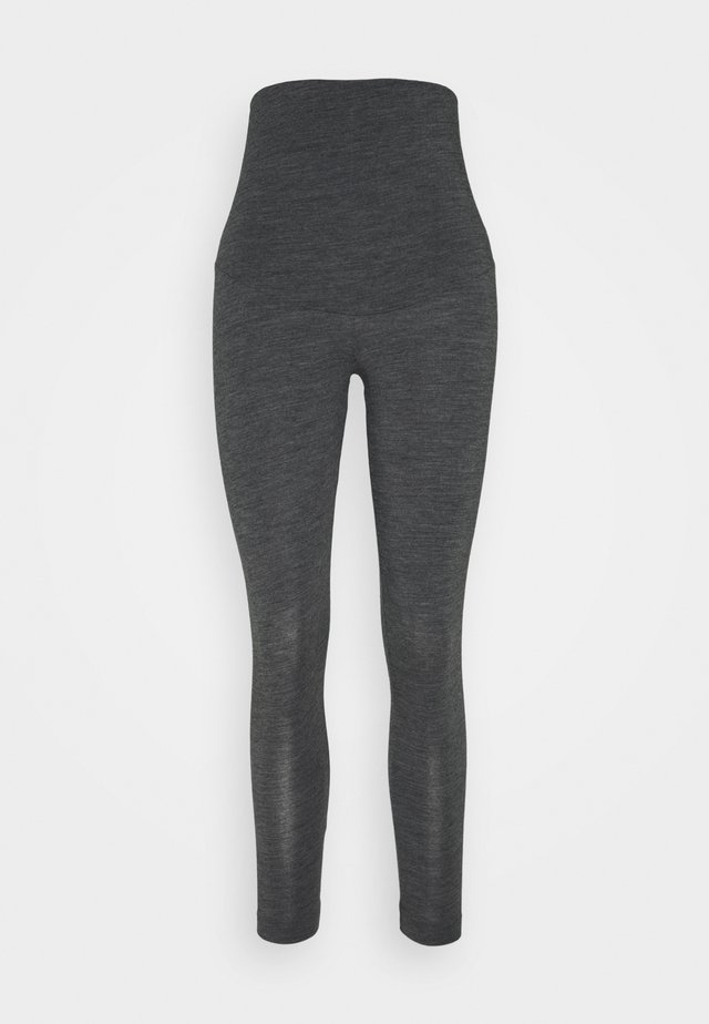 LEGGINGS - Bas de pyjama - dark grey melange