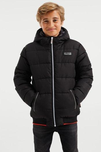 REVERSIBLE BOMBERJACK - Winter jacket - black