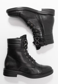 Apple of Eden - TAY - Lace-up ankle boots - black - 3