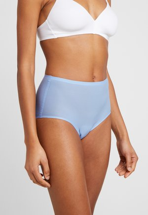 SOFTSTRETCH HIGH WAIST - Pants - bleu glacier