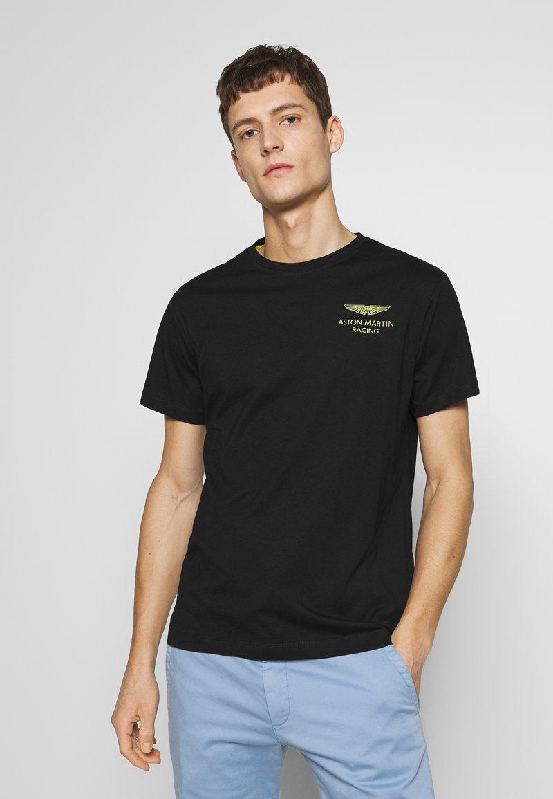 Hackett Aston Martin Racing - LOGO TEE - T-shirt basic - black