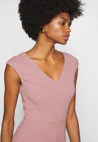 Anna Field - BASIC - V NECK MINI DRESS - Jersey dress - pale mauve - 3