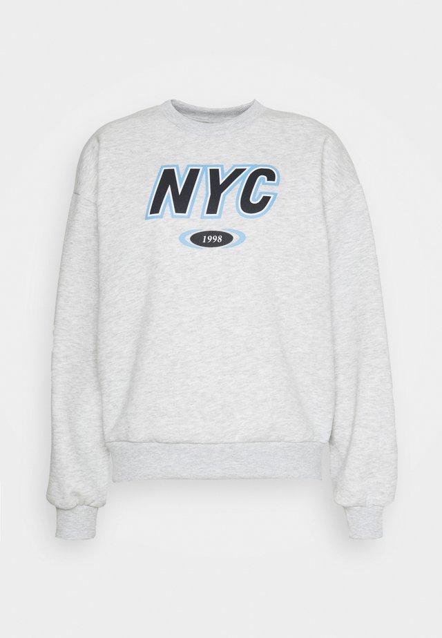 RILEY SWEATER - Sweatshirt - grey