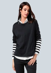 Alba Moda - Sweatshirt - schwarz,off-white - 0