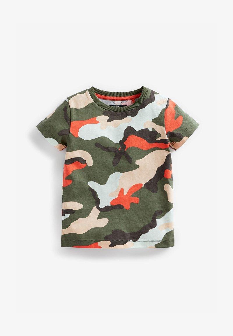 Next - Print T-shirt - green