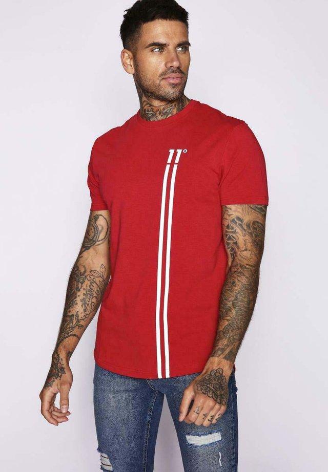 Camiseta estampada - hot red