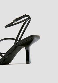 PULL&BEAR - High heeled sandals - black - 3