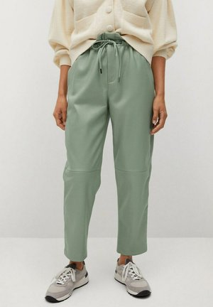 LUCK - Trousers - pastellgrün