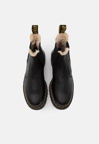 Dr. Martens - 2976 QUAD - Platform ankle boots - black/natural - 3