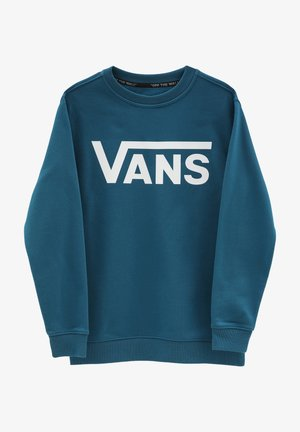 BY VANS CLASSIC CREW BOYS - Sweater - moroccan blue/white