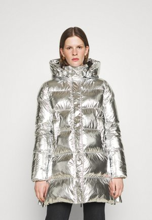 ILLICA IMBOTTITO TELA SPECCHIO - Zimní kabát - silver
