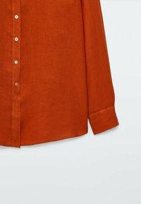 Massimo Dutti - Button-down blouse - red - 6