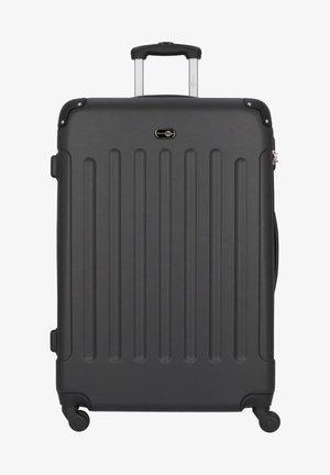 BERLIN 4-ROLLEN TROLLEY 78 CM - Wheeled suitcase - schwarz