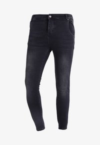 SIKSILK - Jeans slim fit - washed black - 4