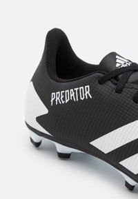 adidas Performance - PREDATOR 20.4 FOOTBALL BOOTS FIRM GROUND - Voetbalschoenen met kunststof noppen - core black/footwear white - 5