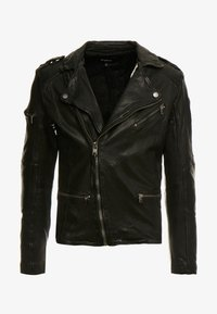 Tigha - JAMES - Veste en cuir - black - 5