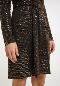 usha - A-line skirt - schwarz nude - 3