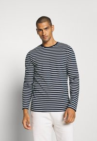 Jack & Jones - JCOMARLO CREW - Long sleeved top - sky captain - 0