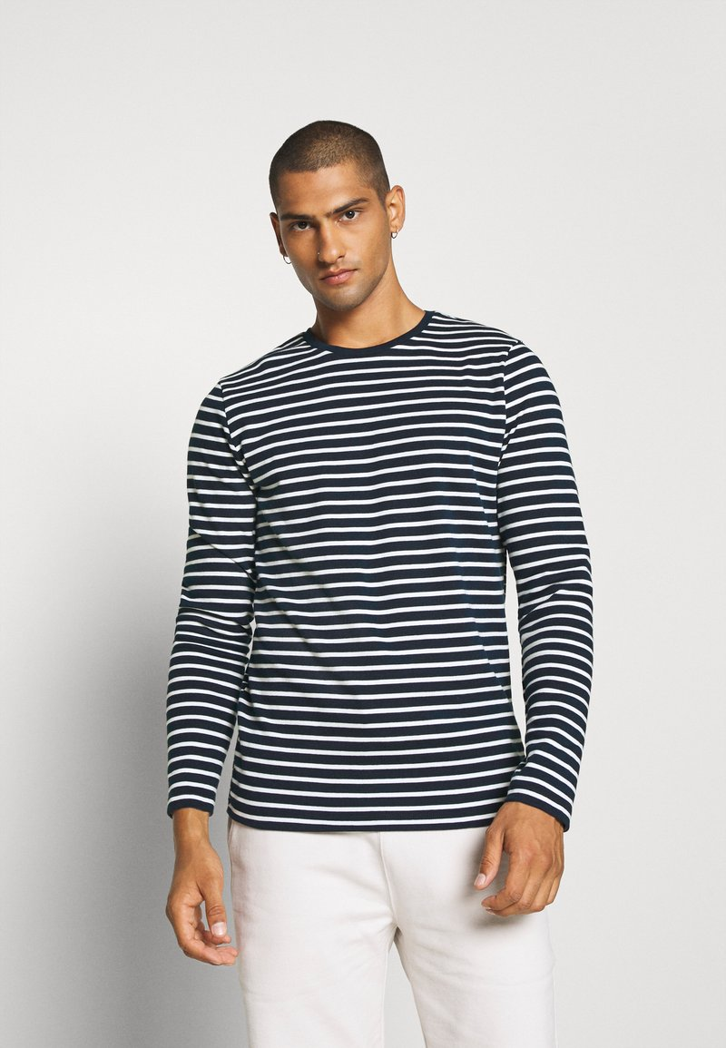 Jack & Jones - JCOMARLO CREW - Long sleeved top - sky captain